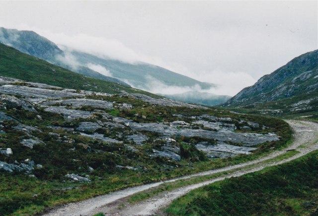Lairig Leacach watershed