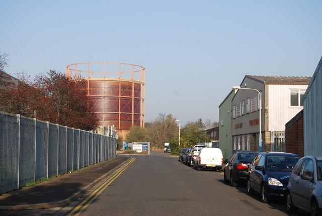 Morley Rd and Gasholder