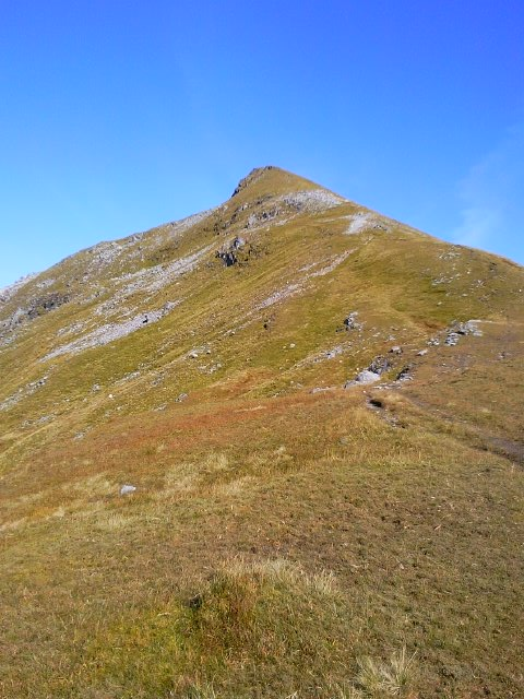 Summit of Sgurr Choinnich Mor