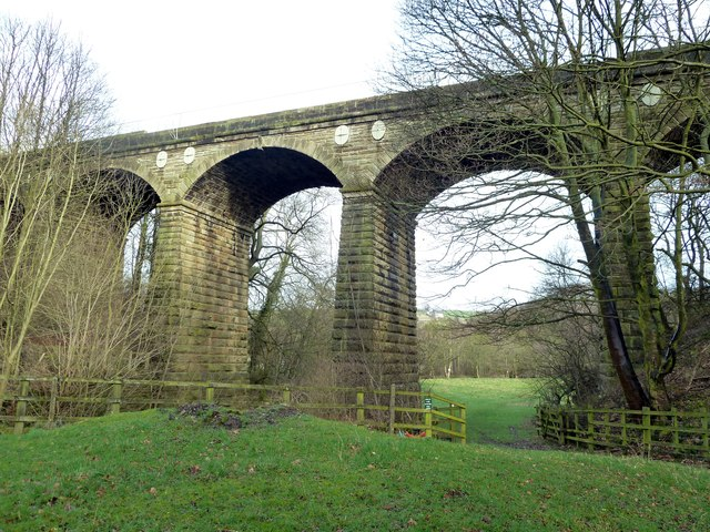 Rumtickle railway viaduct