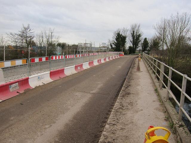 Bridge maintenance work