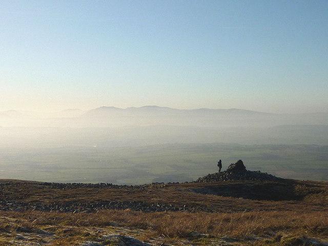 Cairn above Blea Scar