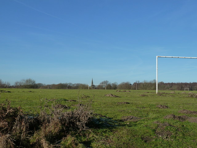 Football pitch on Chailey Common