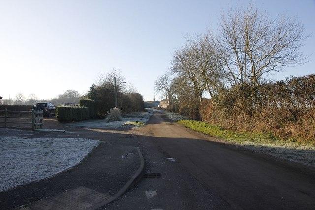 Towards Church farm