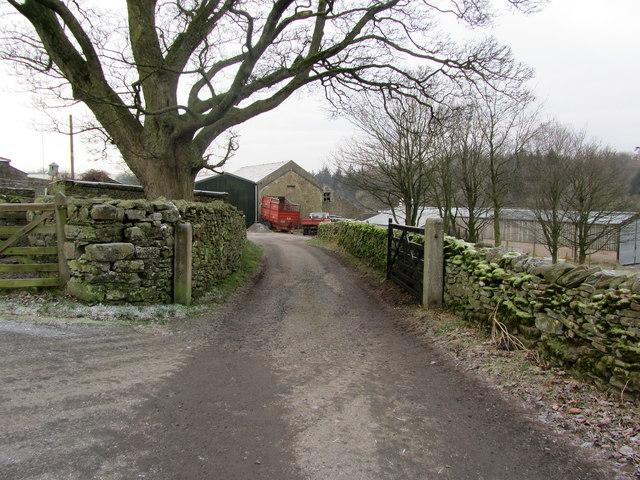 Entrance to Lawkland Green Farm