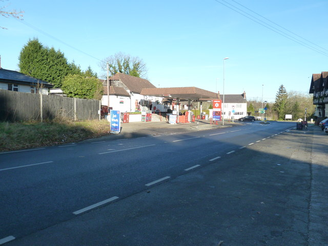 Petrol station North Chailey