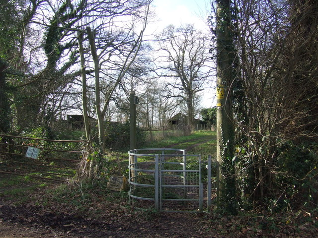 Public footpath near Otford