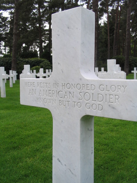 Memorial to an unknown American soldier