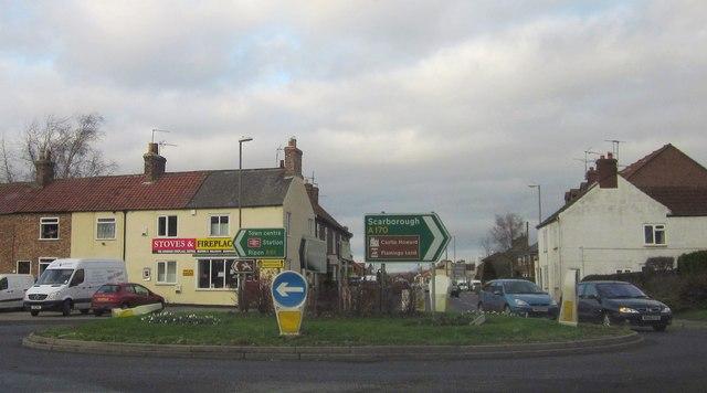 Roundabout, Thirsk