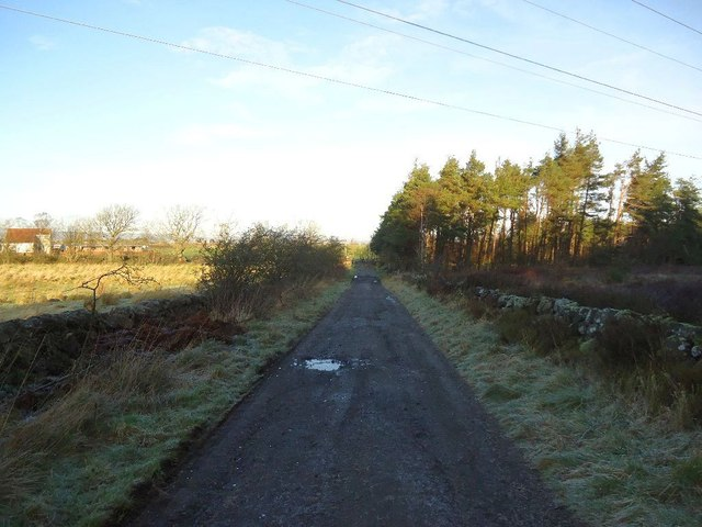 Beam, farm and forestry road.
