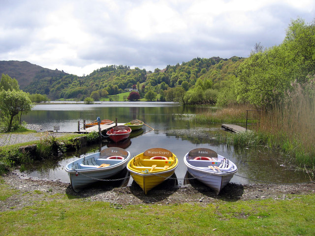 Boats at Grasmere
