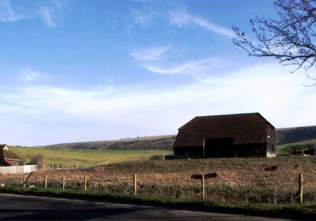 Barn near Upper Beeding