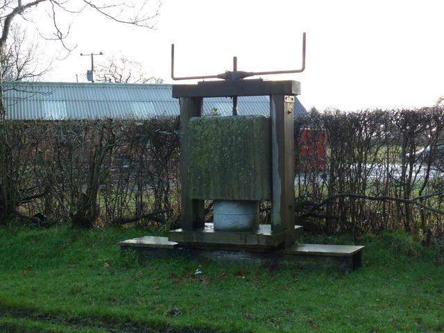 Cheese press at High Head