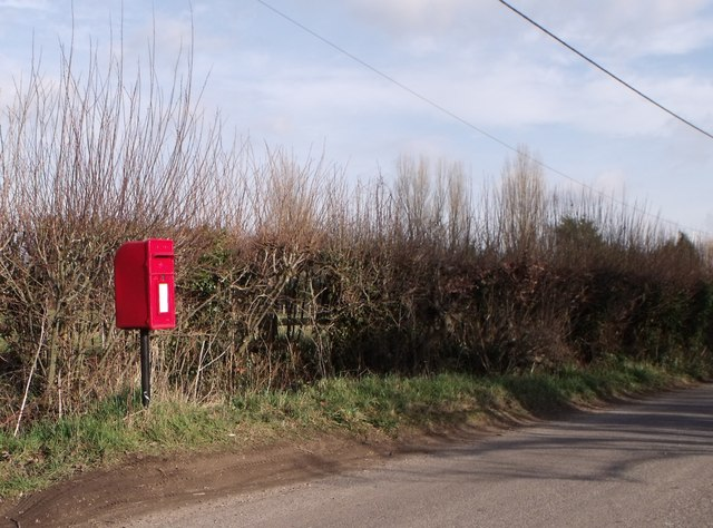 Postbox, West End Lane, Henfield