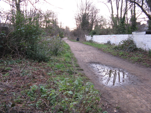 The Parkland Walk, looking south