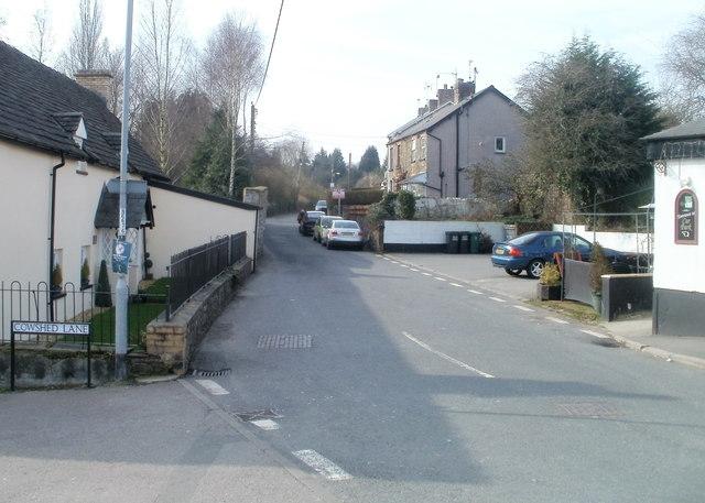 Eastern end of Pentre-Poeth Road, Bassaleg
