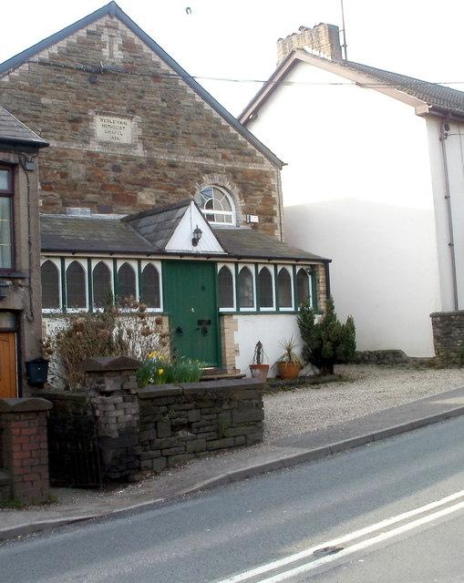 Former Wesleyan Methodist Chapel, Bassaleg