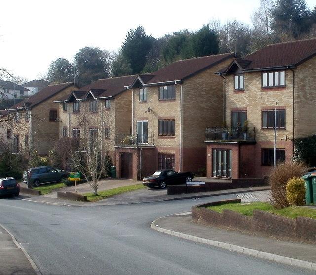 Ffos-y-fran houses, Bassaleg