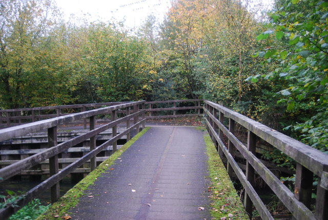 Bridge, Blackwater Valley Path
