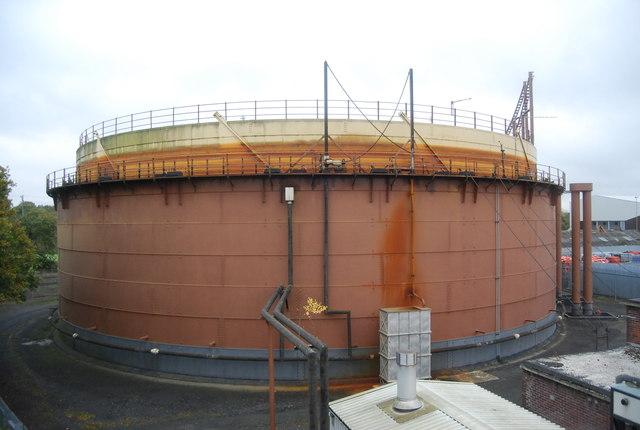 Farnborough Gasworks