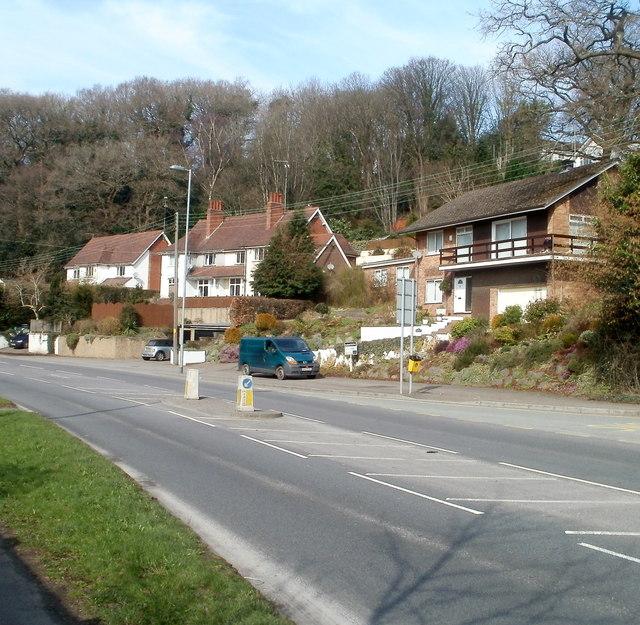 Caerphilly Road houses near Ffos-y-fran, Bassaleg