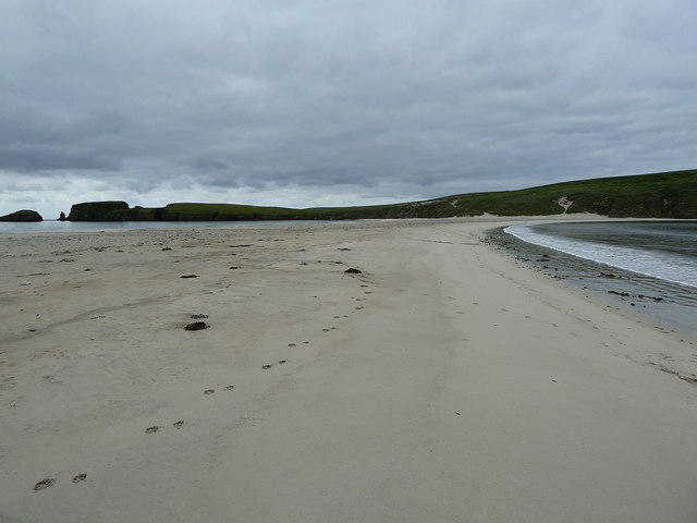 Sands of the tombolo, St Ninian's Isle