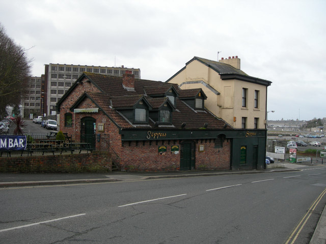 Sippers Pub, Millbay Road, Plymouth