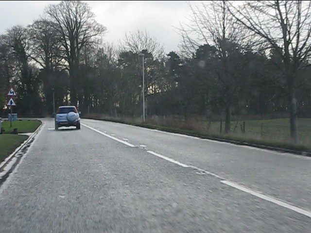 Chelford Road near Kerfield House