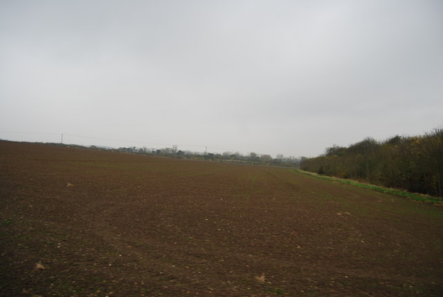 Ploughed field by Rabbit Shaw