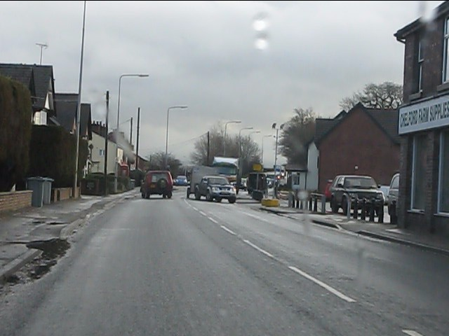 A537 in Chelford