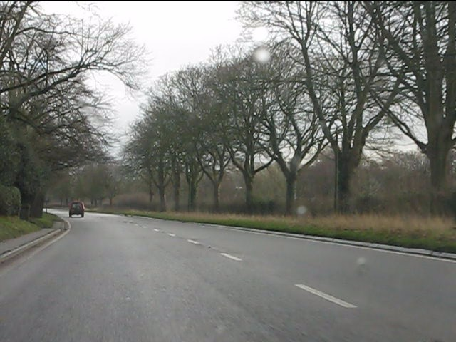 A537 near Willow Gaff