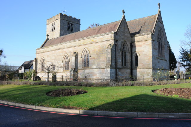 Hindlip church