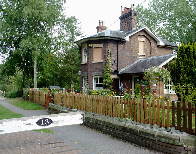 Lock Cottage at Audlem, Cheshire