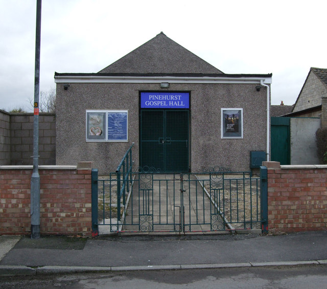 Pinehurst Gospel Hall, Liddington Street