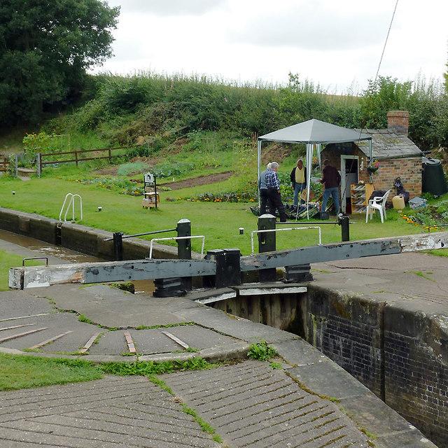 Audlem Bottom Lock No 15, Cheshire