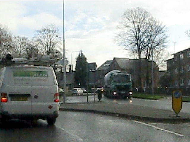 Macclesfield - Cumberland Street at Westminster Road roundabout