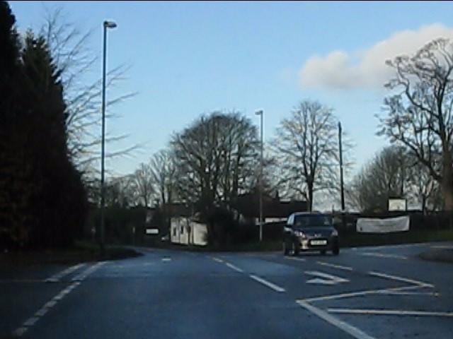 Crossroads on Prestbury Road