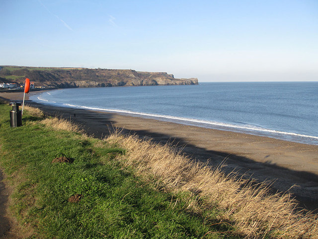 View across the bay, Sandsend