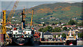 J1418 : The Town Dock, Warrenpoint (5) by Albert Bridge
