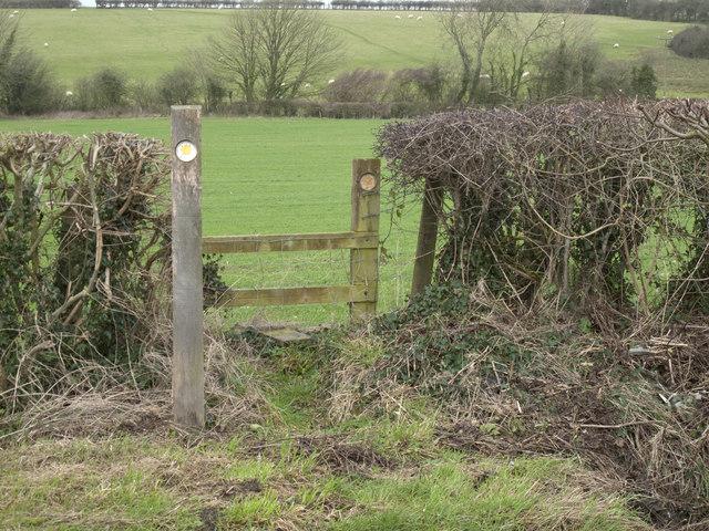Stile near Walterston village