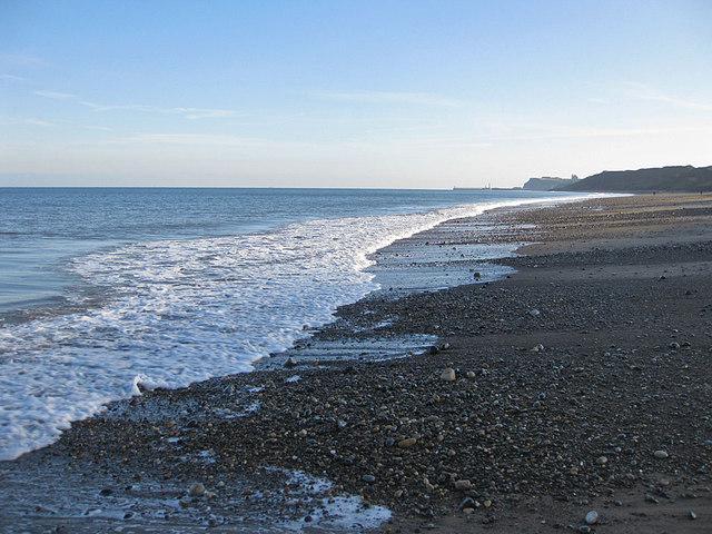 Sand and pebble beach