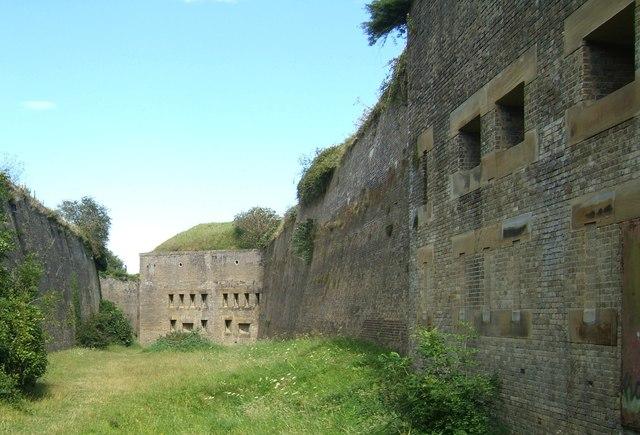 Inside the Drop Redoubt