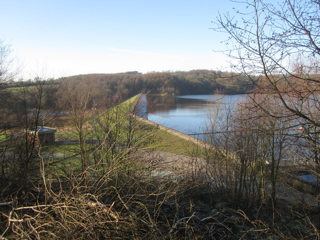 Tittesworth Water - dam wall
