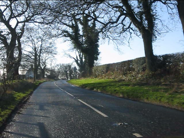 Pexhill Road near Henbury Farm