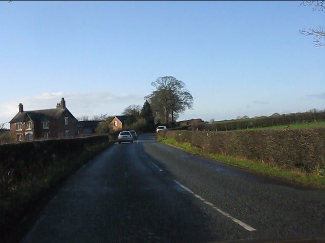 Simonswood Farm from the B5392