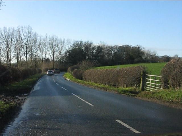 B5392 near Simonswood Farm