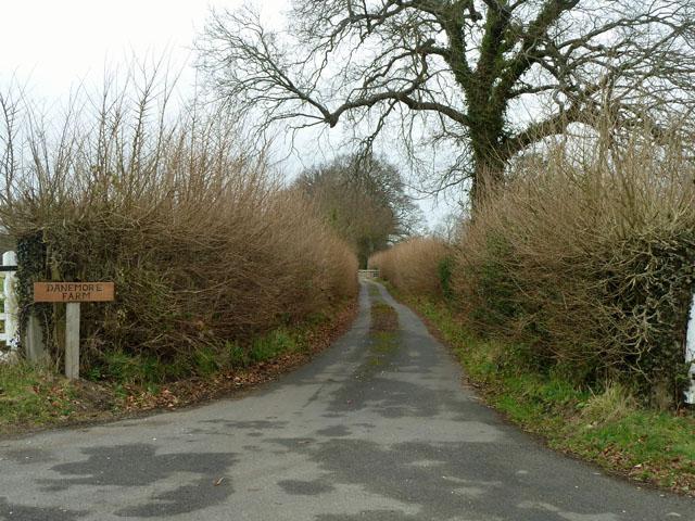 Drive to Danemore Farm