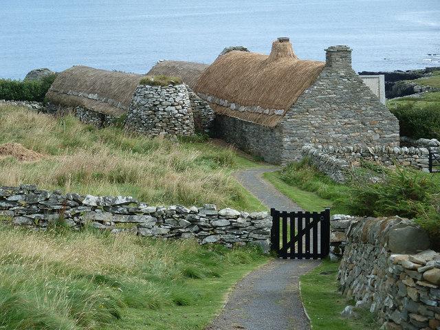 Shetland Crofthouse museum - entrance