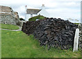 HU3914 : Peat stack at Shetland Crofthouse Museum by Rob Farrow