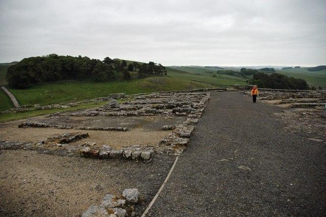 Housesteads Roman Fort - Barracks Area
